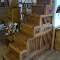 欅階段箪笥