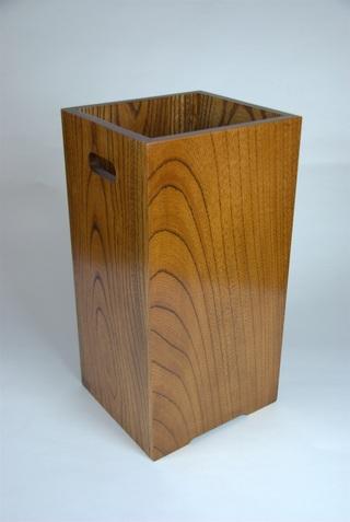 木製ごみ箱
