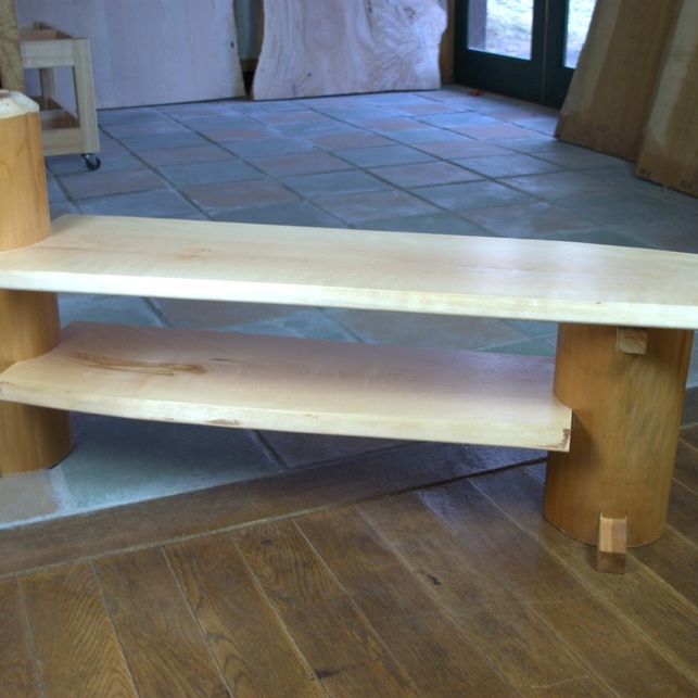 木のままTVボード・棚